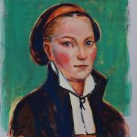 Katharina von Bora Vorstudie 2