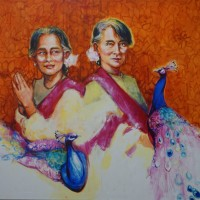 the peacocks keeper (Aung San Suu Kyi)